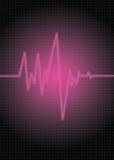 puls różowy obrazy royalty free
