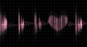 Pulsação do coração ilustração stock
