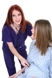 Pulsação do coração do bebê Fotografia de Stock Royalty Free