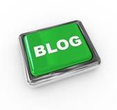 Pulsador del blog Imagen de archivo