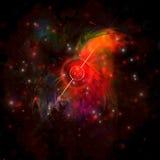 pulsar Arkivfoton