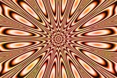 Pulsar. Abstract image - oscillating chaos - vibrating star - pulsar Royalty Free Stock Photos