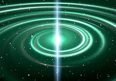 Pulsar highly magnetized, rotating neutron star Stock Photo