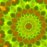 Pulsating Green Pattern Royalty Free Stock Images