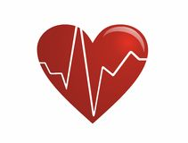 The pulsating heart Stock Photo