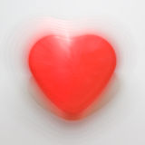 Pulsating heart shape Stock Images