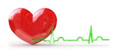 Pulso del corazón Imagen de archivo libre de regalías