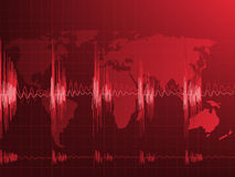 Pulse of the Earth Royalty Free Stock Image