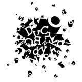 Pulse el explosivo decorativo Imágenes de archivo libres de regalías