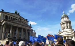 Pulse of Europe Berlin Stock Photography