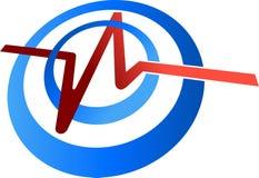 Pulse logo Royalty Free Stock Photo