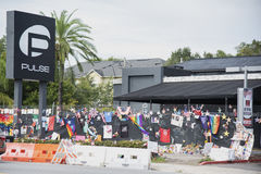 Pulse Nightclub Massacre Royalty Free Stock Photography