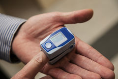 Pulse oximeter Royalty Free Stock Image