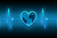 Pulse of the planet Royalty Free Stock Photos