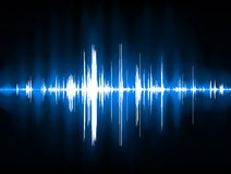 Pulse Wave Background Stock Images