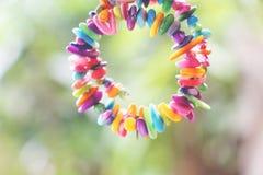 Pulsera colorida imagen de archivo
