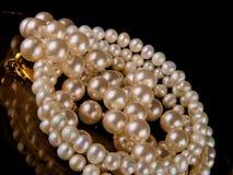 Pulsera de la perla Fotografía de archivo
