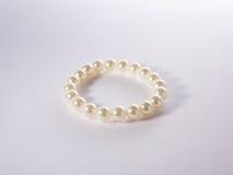 Pulsera de la perla Fotografía de archivo libre de regalías