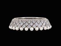 Pulsera del diamante fotografía de archivo
