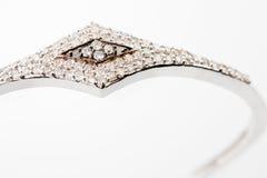 Pulsera del diamante Imagen de archivo libre de regalías