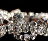 Pulsera del diamante Foto de archivo