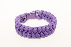 Pulsera púrpura Fotografía de archivo libre de regalías