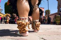 Pulsera para el tobillo maya tradicional Imagenes de archivo