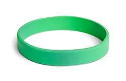 Pulsera verde Fotos de archivo libres de regalías