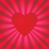 pulserar för hjärta Royaltyfri Bild