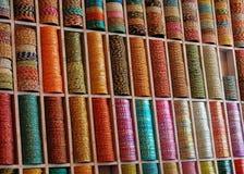 Pulseras coloridas fotografía de archivo libre de regalías