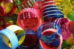 Pulseras coloridas Foto de archivo libre de regalías