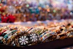 Pulseras de la joyería de la moda; Foto de archivo libre de regalías
