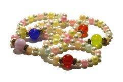 Pulseras de la perla Imagen de archivo