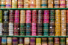 Pulseras indias Fotografía de archivo libre de regalías