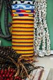 Pulseras y collares Foto de archivo libre de regalías