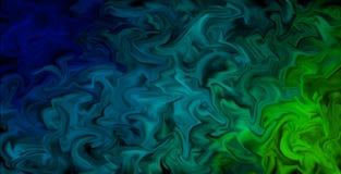 Pulserend Gesmeerd Kleurenbehang - Abstracte artistieke achtergrond, kleuren in motie royalty-vrije illustratie