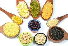 Pulses and lentils royalty free stock photo