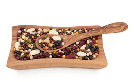 Pulses Soup Mix Royalty Free Stock Images