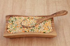 Pulses Soup Mix Royalty Free Stock Photography