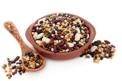 Pulses Soup Mixture Royalty Free Stock Images