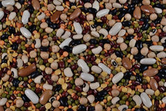 Pulses. Varied pulses,mixed in the studio table Royalty Free Stock Image
