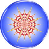 Pulsetting Illusion vector illustration