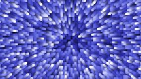 Pulsing background with fine changing blue square pattern with radial glow. Animated background with fine changing blue square pattern with radial glow stock footage
