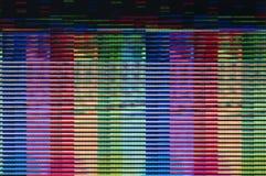 Pulso aleatório de Digitas fotos de stock