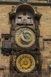 Pulso de disparo astronômico de Praga Fotos de Stock Royalty Free