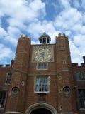Pulso de disparo astronômico do palácio de Hampton Court Foto de Stock