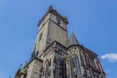 Pulso de disparo astronômico em Praga Imagem de Stock Royalty Free