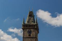 Pulso de disparo astronômico em Praga Fotografia de Stock
