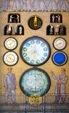 Pulso de disparo astronômico & x28; orloj & x29; , Olomouc Fotografia de Stock