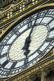 Pulso de disparo da torre de Ben grande, Londres Fotos de Stock